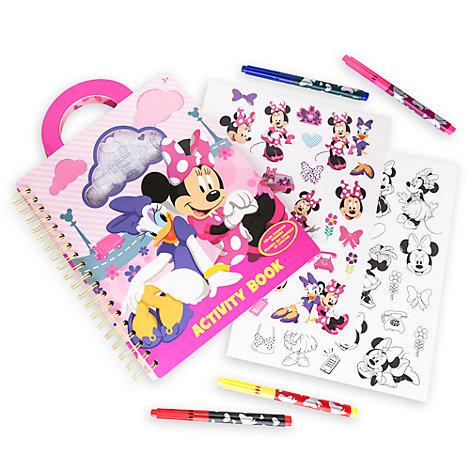 Libro de actividades para llevar Minnie Mouse