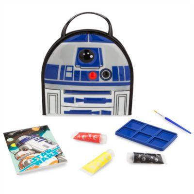Ensemble d'articles de peinture R2-D2, Star Wars