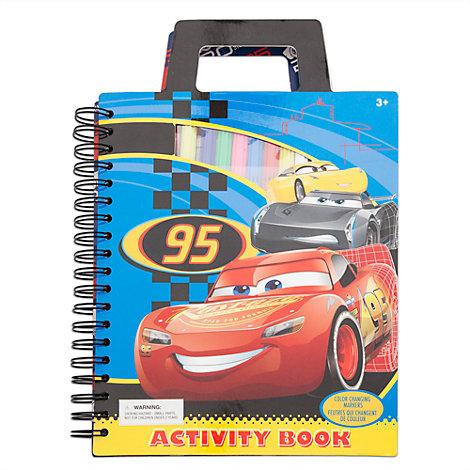 Cuaderno de actividades de viaje de Disney Pixar Cars 3
