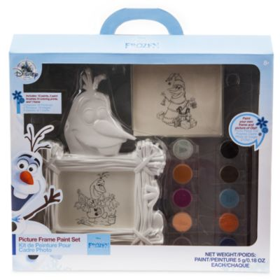 Olaf's Frozen Adventure Picture Frame Paint Set