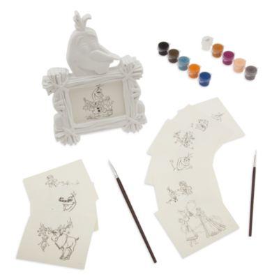 Olaf's Frozen Adventure målarset för tavelram