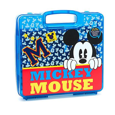 Maletín de pintura 23 piezas Mickey Mouse