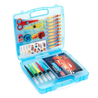 Disney Pixar Cars 23-Piece Travel Art Kit