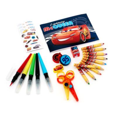Kit da viaggio per colorare da 23 pezzi Cars