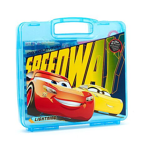 Disney Pixar Cars 23-Piece Travel Art Kit
