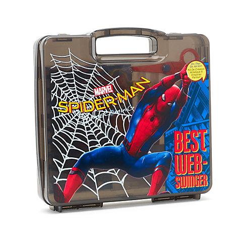 Spider-Man: Homecoming konstnärskit för resor med 23 delar