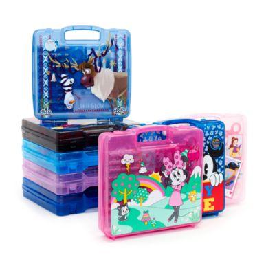 Disney Prinzessin - Tragbares Künstlerset mit 23 Teilen