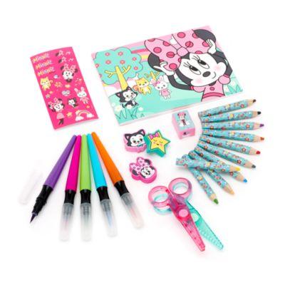 Minnie Mouse 23-Piece Travel Art Kit