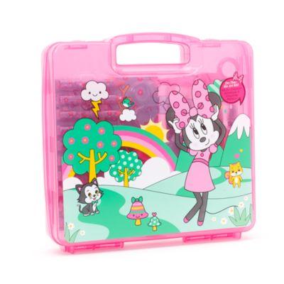Maletín de pintura viaje 23 piezas Minnie Mouse
