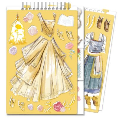 Skønheden og Udyret mode skitsebog