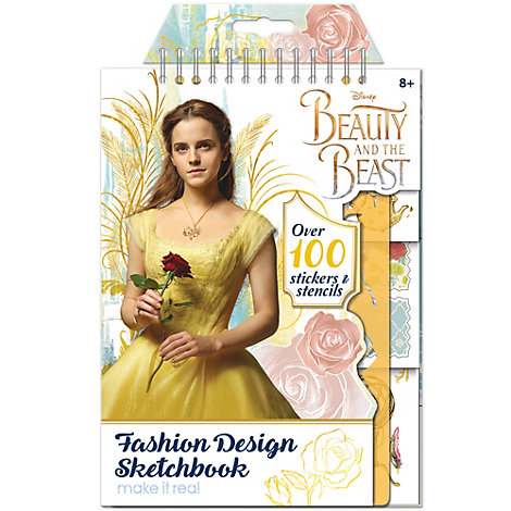 Die Schöne und das Biest - Modedesign-Sketchbook