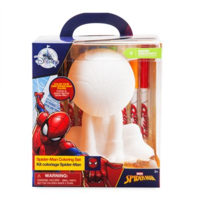 Set para colorear figura Spider-Man
