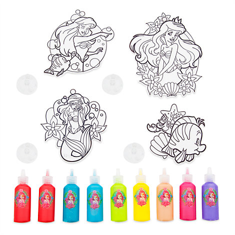 The Little Mermaid Suncatcher Paint Set