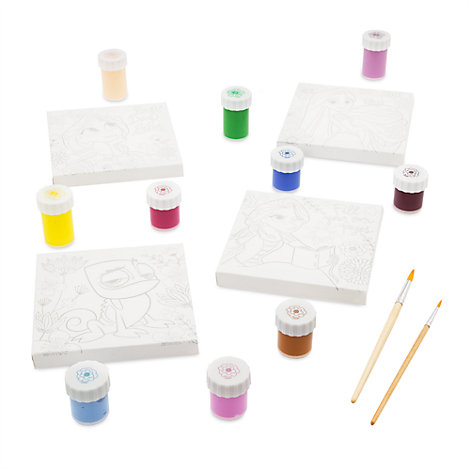Tangled: The Series Canvas Paint Set