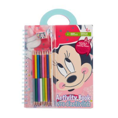 Cuaderno de actividades Minnie Mouse