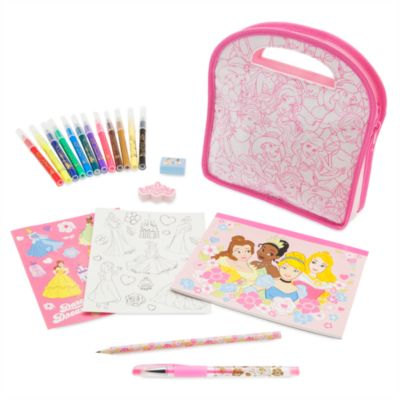 Kit portátil para colorear princesas Disney