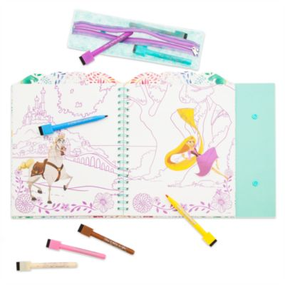 Tangled: The Series Dry Erase Colouring Book