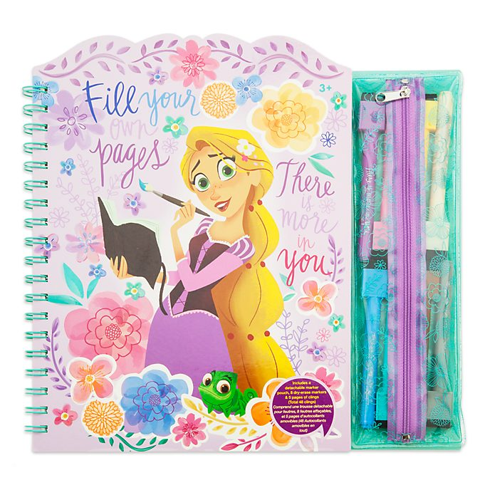 Disney Store Libro da colorare cancellabile Rapunzel: La Serie
