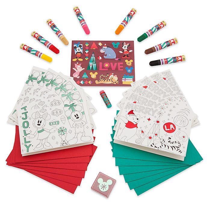 Disney Store Kit de Cartes de voeux à fabriquer, collection Share the Magic