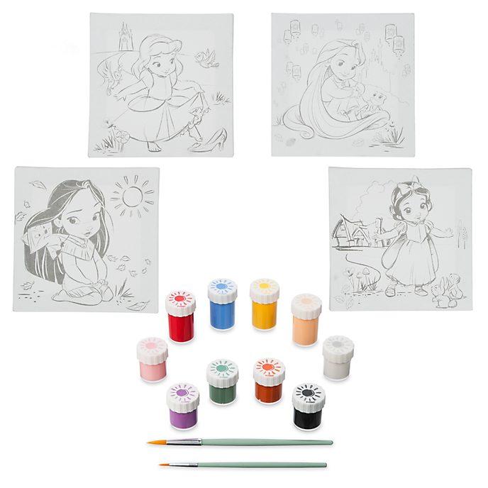 Disney Store Nécessaire de peinture sur toile, Disney Animators