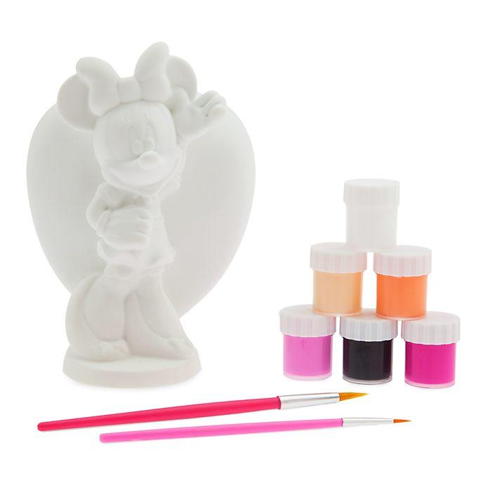 Disney Store Minnie Mouse Coin Bank Paint Set