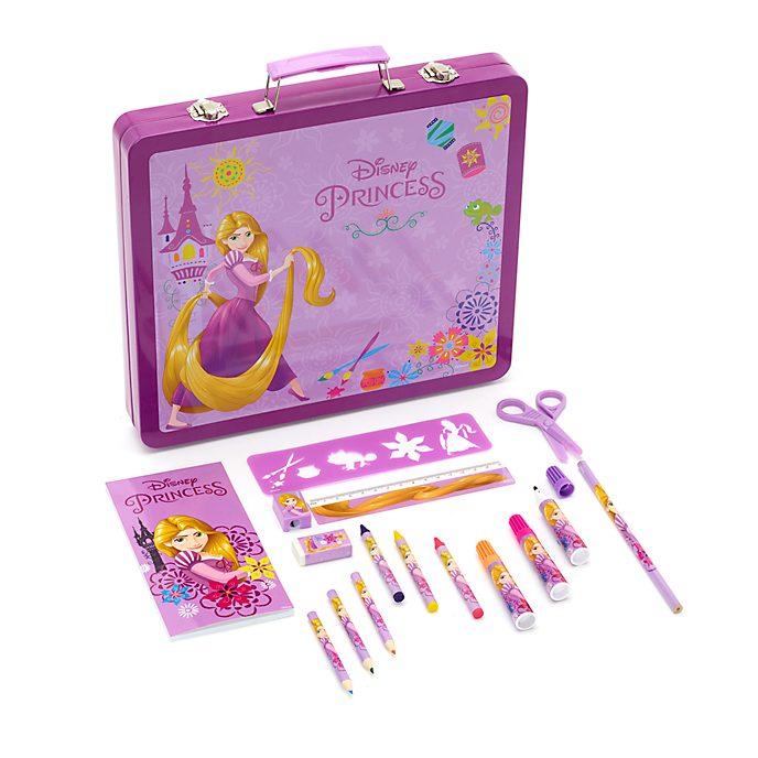 Maletín dibujo Rapunzel, Disney Store (50piezas)