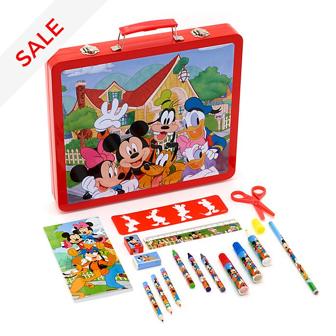 Disney Store Mickey and Friends 50 Piece Art Kit