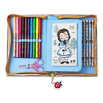 Set cancelleria con cerniera collezione Disney Animators Belle Disney Store