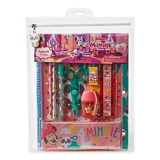Juego de papelería Minnie Mouse, Disney Store