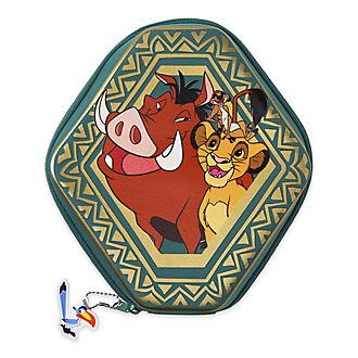 Disney Store The Lion King Zip-Up Stationery Kit