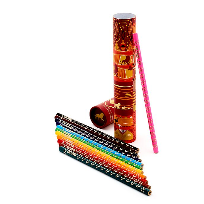 Disney Store The Lion King Colouring Pencils, Set of 12