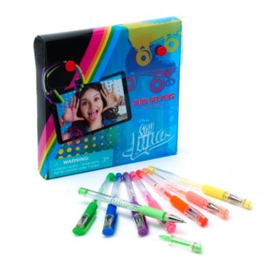 Juego de 8 bolígrafos de gel Soy Luna