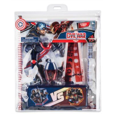 Kit de fournitures de papeterie Captain America
