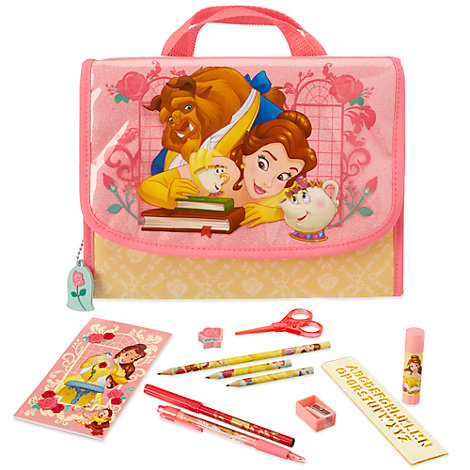 Beauty And The Beast Zip-Up Stationery Set