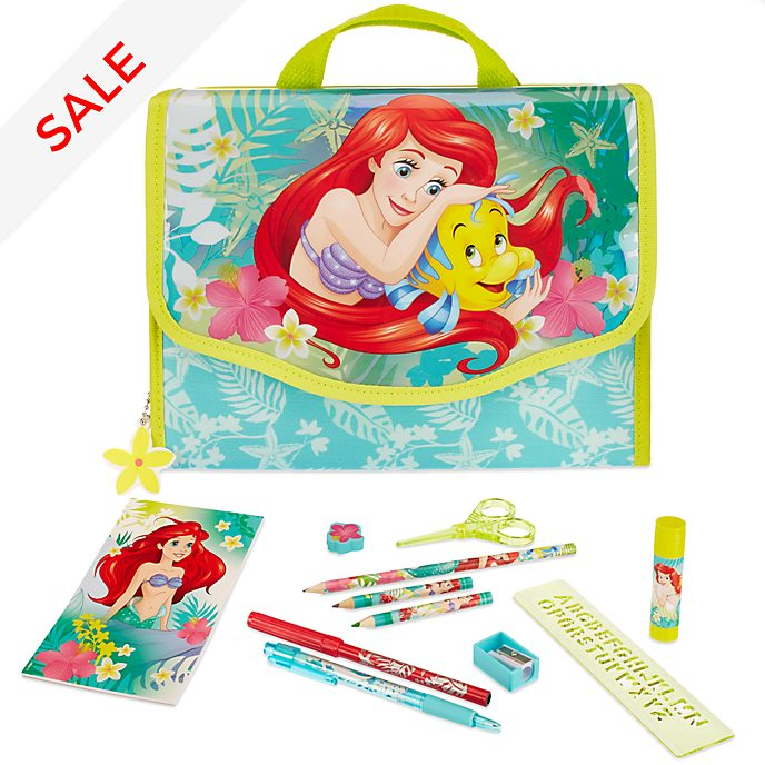 The Little Mermaid Zip-Up Stationery Set