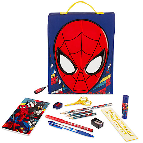 Ensemble d'articles de papeterie Spider-Man de Marvel Ultimate