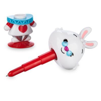 Bolígrafo con la figura del Conejo Blanco de Alicia en el País de las Maravillas, colección MXYZ
