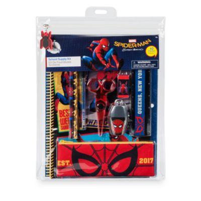Ensemble de fournitures de papeterie Spider-Man
