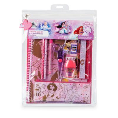 Ensemble de fournitures de papeterie Princesses Disney