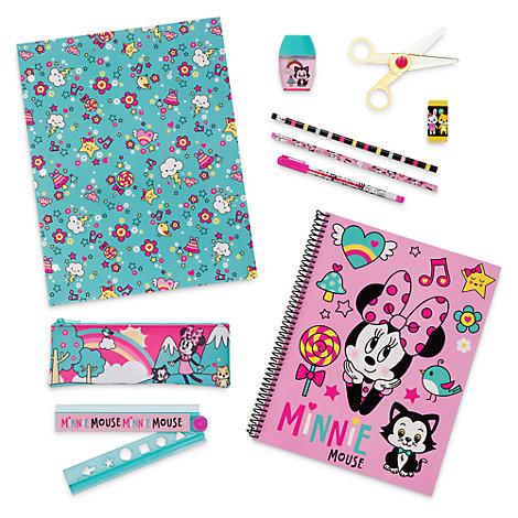Ensemble de fournitures de papeterie Minnie Mouse