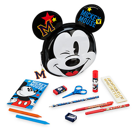 Mickey Mouse Filled Pencil Case