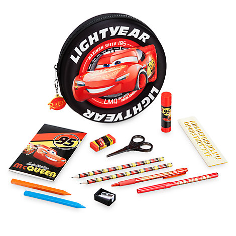 Disney Pixar Cars 3 Filled Pencil Case