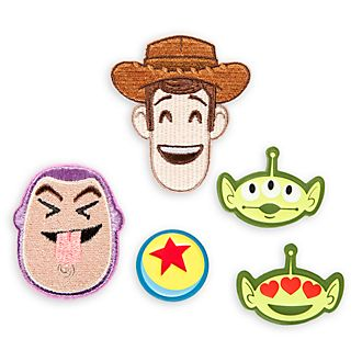 Écussons autocollants Toy Story, Disney emoji