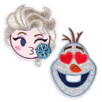 Écussons autocollants La Reine des Neiges, Disney emoji