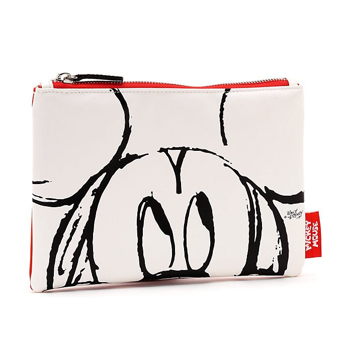 Estuche blanco Mickey Mouse Sketch