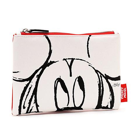 Micky Maus - Sketch Federmäppchen - weiß