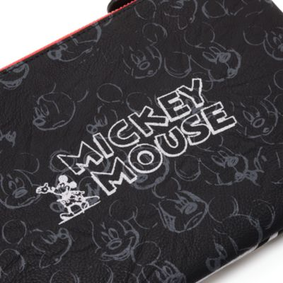 Pochette noire Mickey Mouse Sketch