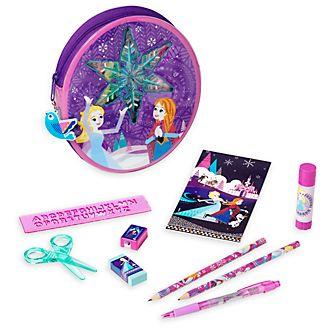 Disney Store Frozen Zip-Up Stationery Kit