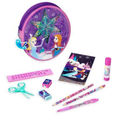 Set papelería con cremallera Frozen Disney Store