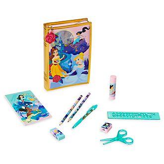 Set papelería con cremallera princesas Disney Disney Store